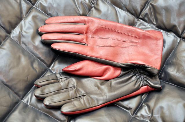 rękawice skorzane