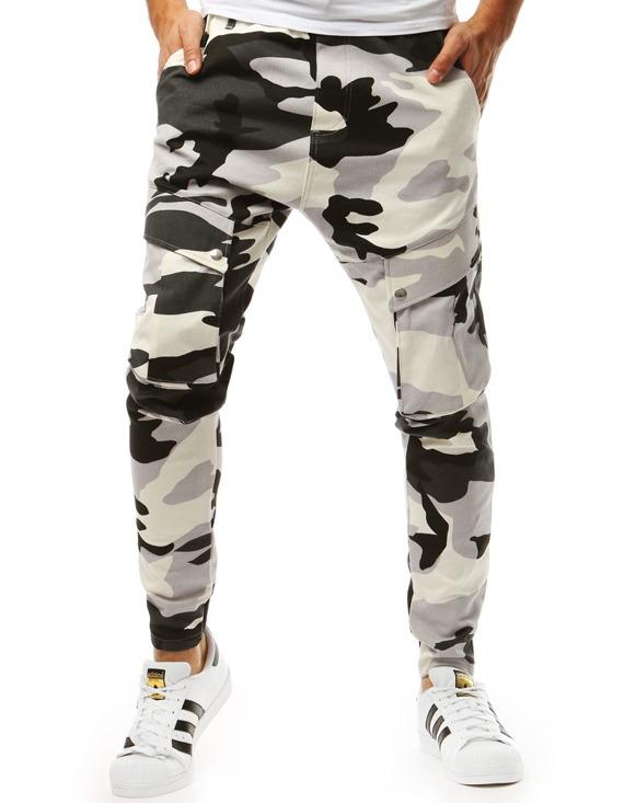 praktyczne spodnie męskie - bojówki