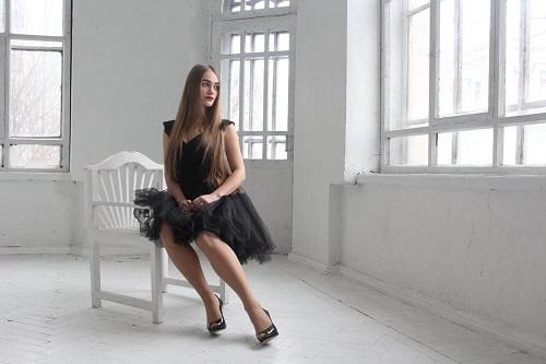 sukienka ciemna